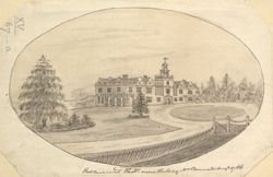Rothamsted, Herts, near Harpenden, the seat of Mrs Bennett
